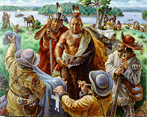 powhatan and jamestown relationship with native americans