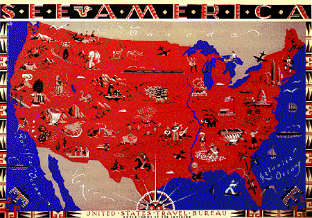Indians Of Arkansas What Is A Map - Us map with points of interest