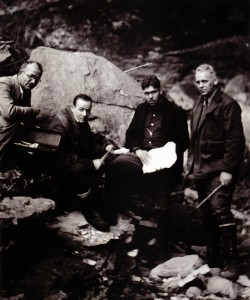 Dellinger in cob cave