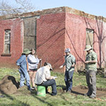 Archeologist reports on Canehill Methodist manse