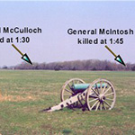 Plans made for dig at Pea Ridge's Leetown hamlet; analysis of artillery site continues