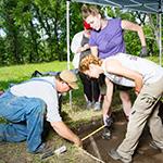 Archeological Field School Focuses on Leetown, Former Hamlet at Pea Ridge.  Matt McGowan, Research Frontiers, June 21, 2017.
