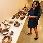 Agency returning tribal artifacts.  Jaime Adame, Arkansas Online. June 11, 2017.