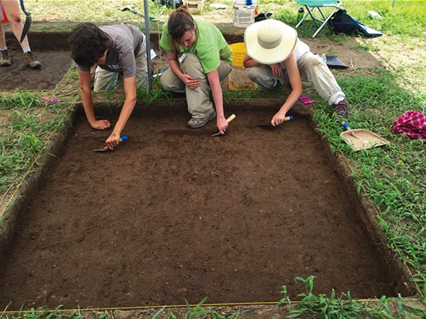 Archeology Month 2017 excavations
