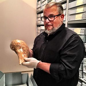 Dr. Jamie C. Brandon, UAF Station Archeologist