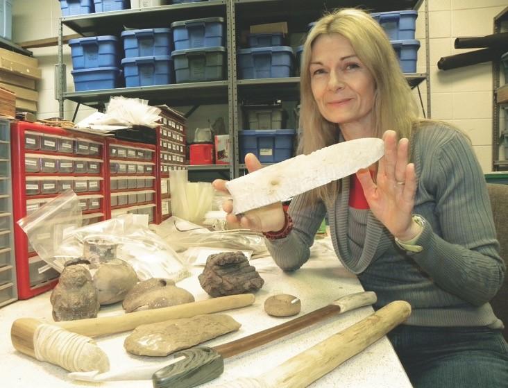 ASU Station Archeologist Dr. Julie Morrow