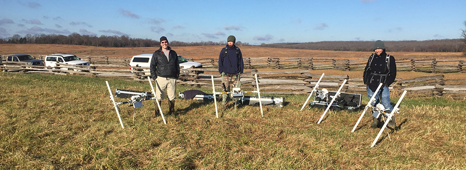 Magnetometers at Ruddick's Field