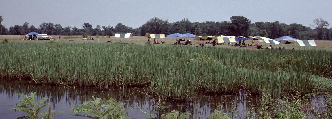 Society Dig at Holman Springs saltmaking site in 1985.