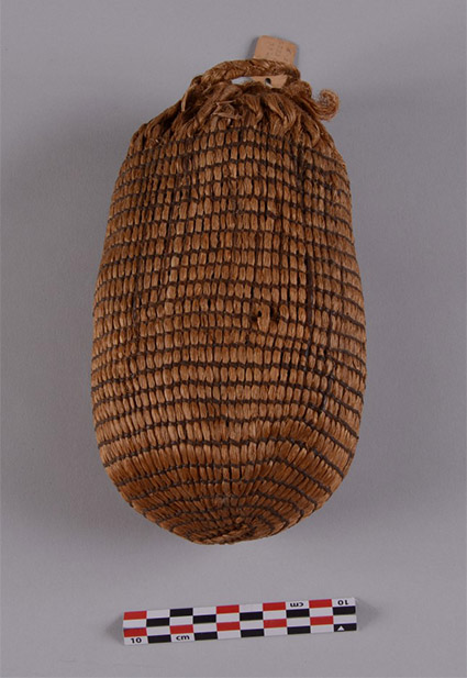 The Edens Bluff seed bag. University of Arkansas Museum Collections.
