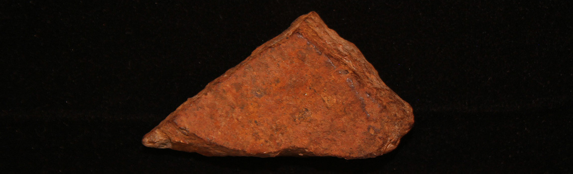 May Artifact of the Month - Cannonball fragment from Pea Ridge