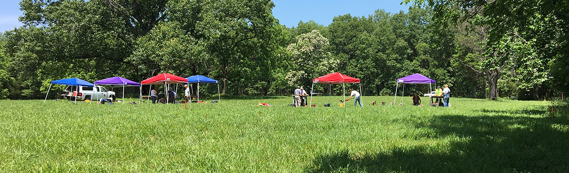 Pea Ridge Battlefield Excavations