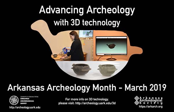 2019 Arkansas Archeology Month Poster