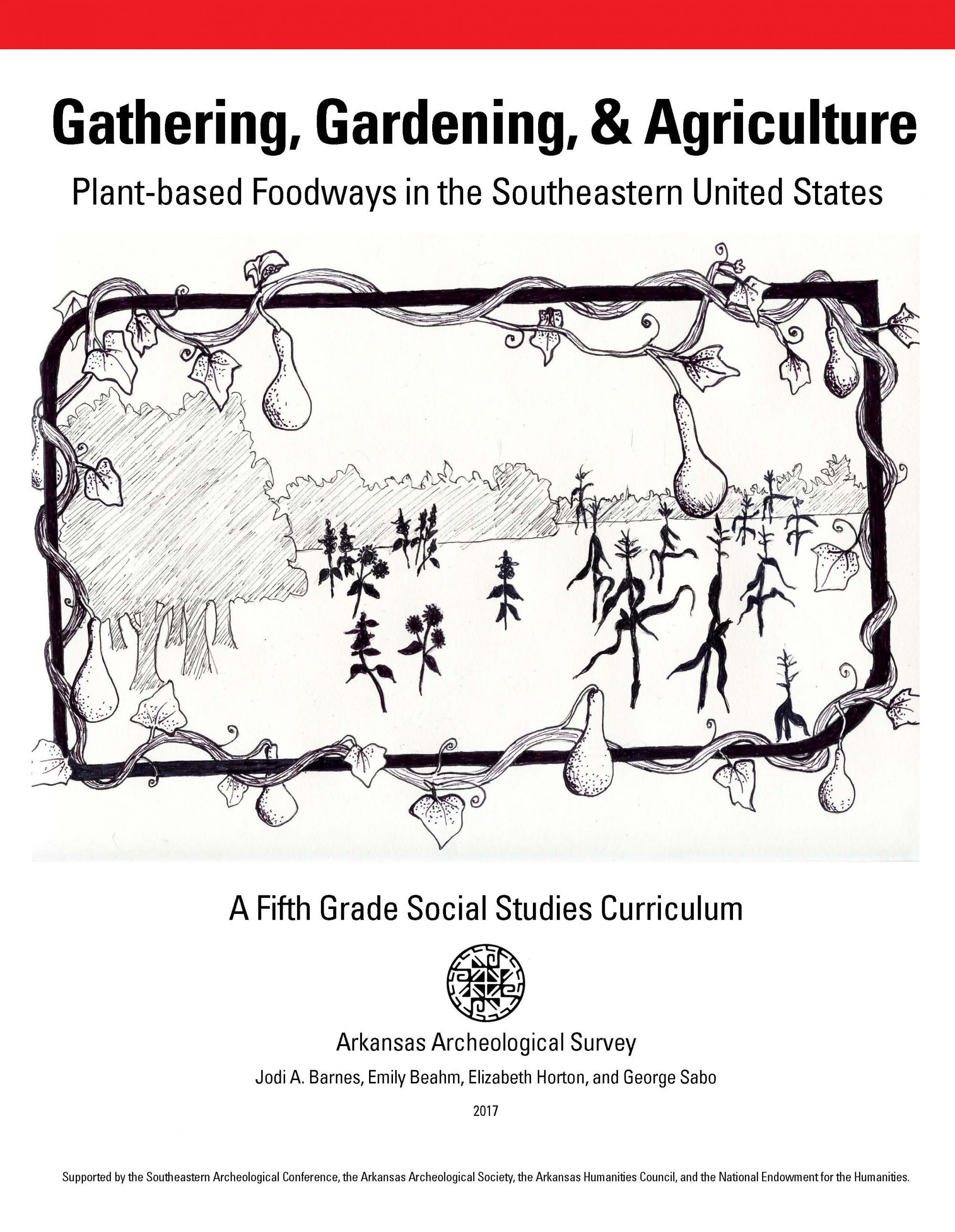 Gathering, Gardening, & Agriculture - curriculum publication cover