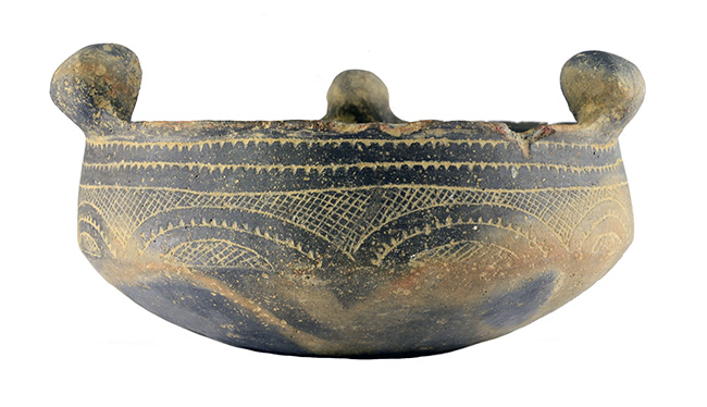 Engraved Caddo bowl