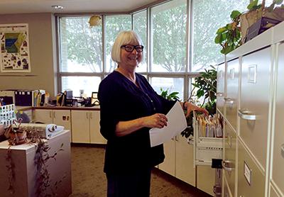 Lela Donat retired as Survey Registrar in December 2018.