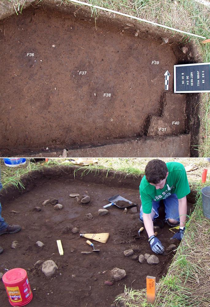 Excavating archeological units