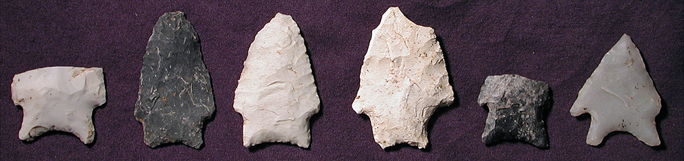 Archaic dart points from the Jones Mill Site