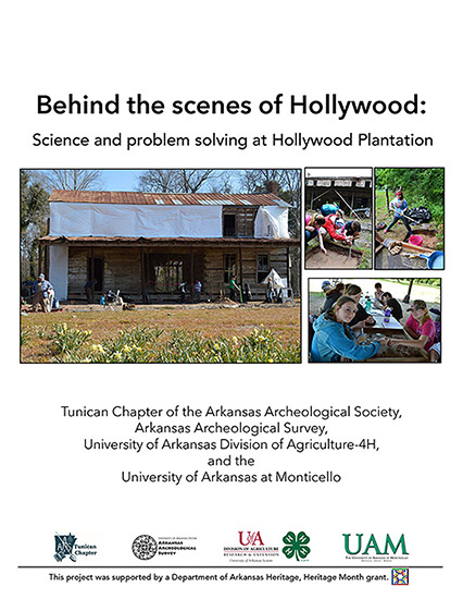 Hollywood Plantation activity book
