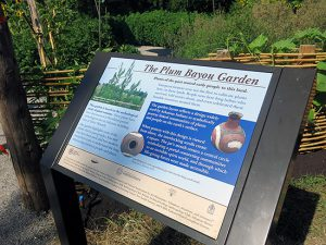 The Plum Bayou garden at Toltec Mounds