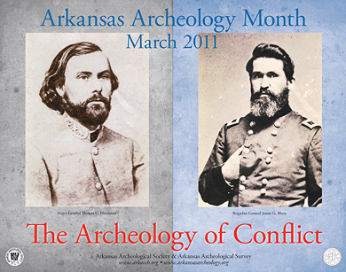 The 2011 Arkansas Archeology Month poster
