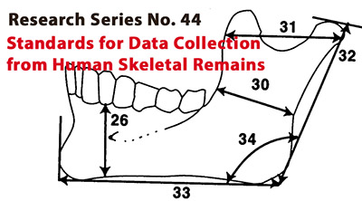 Standards for Data Collection from Human Skeletal Remains: Proceedings of a Seminar at the Field Museum of Natural History organized by Jonathan Haas.