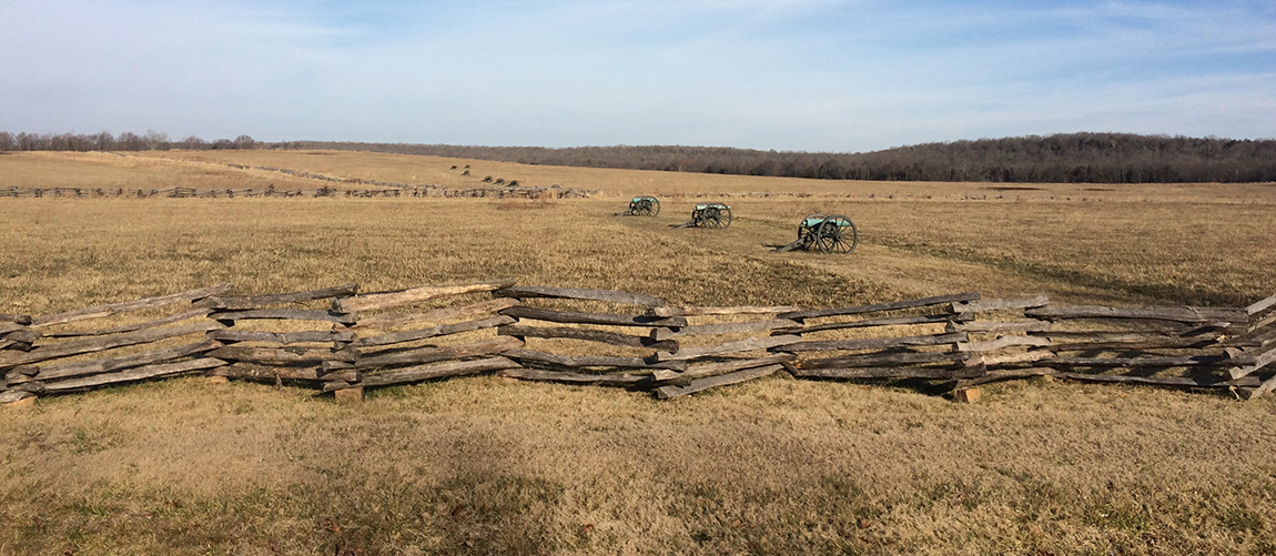 Pea Ridge National Military Park, Pea Ridge, Arkansas.