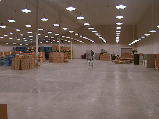 The 13,534 square foot Collection Facility before the installation of shelving. Over 20 million objects are now housed in this climate-controlled space.