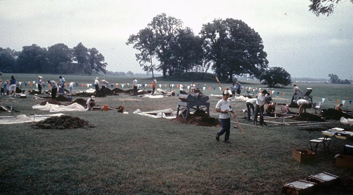 Arkansas Archeological Society excavations.