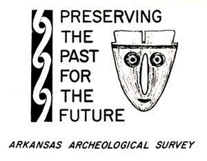 """Preserving the Past for the Future"" - an early logo of the Survey."