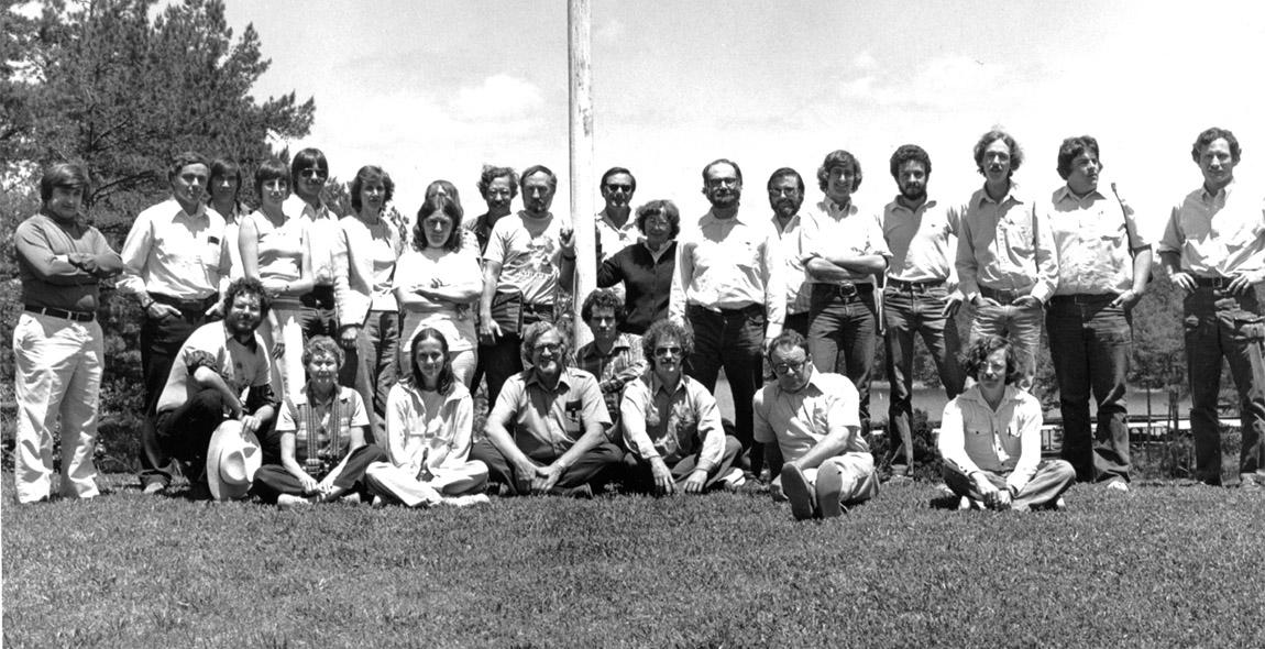 State Plan meeting at Lake Ouachita 1979