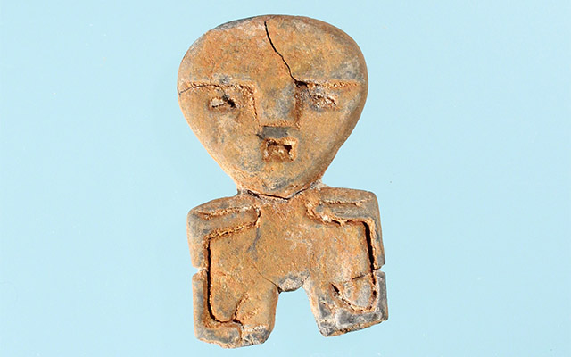 A stone figurine from Jefferson County, featured in our Artifact of the Month series