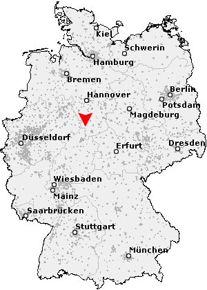 Figure 4. General location of Grossalmerode, in Hesse, Germany.