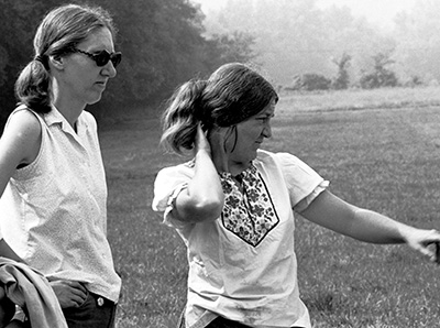 Martha Rolingson and Ann Early.