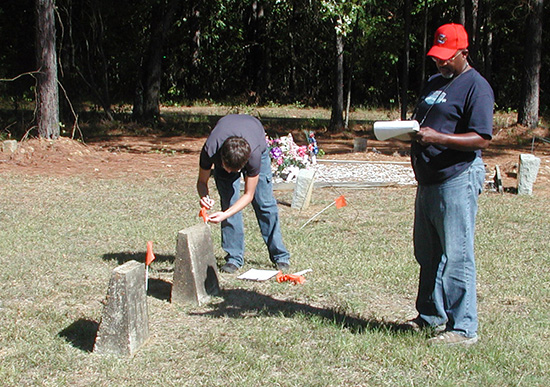 Documenting the Helms Cemetery, the burial place of several African-American men and women who were once prominent in education and medicine in Arkadelphia.