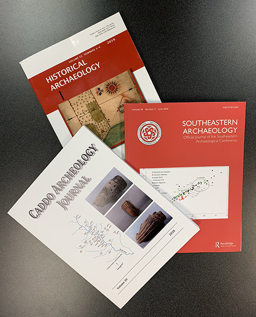 Several Survey archeologists serve as editors or members of editorial boards for professional organizations and journals.
