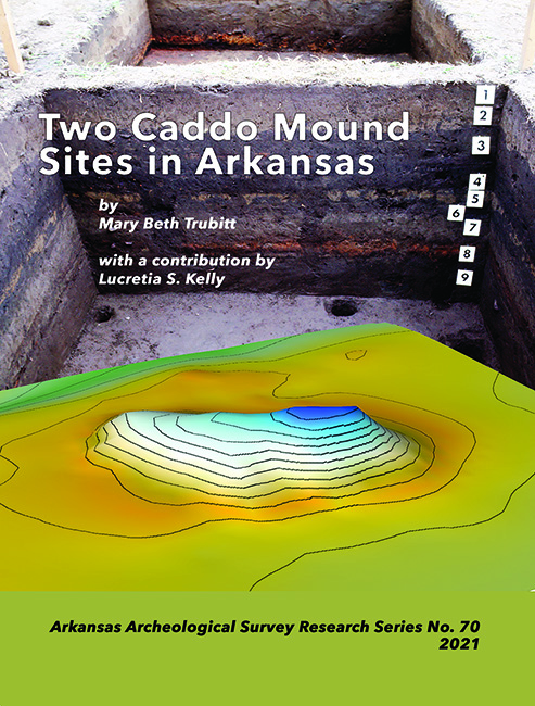 """Front cover of Research Series Number 70, """"Two Caddo Mound Sites in Arkansas"""""""